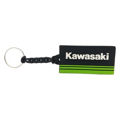 Chaveiro emborrachado Kawasaki