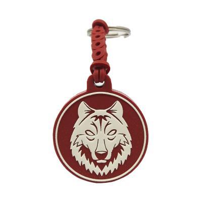 Chaveiro emborrachado Lobo