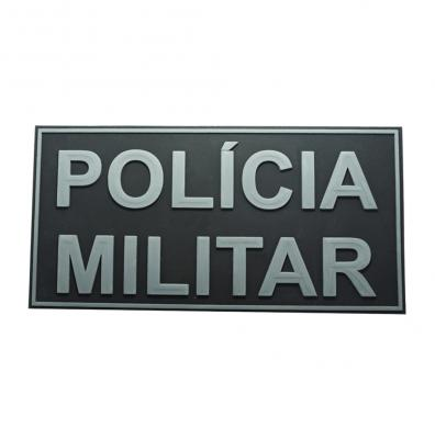 Etiqueta Policia Militar