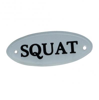 Etiqueta Squat